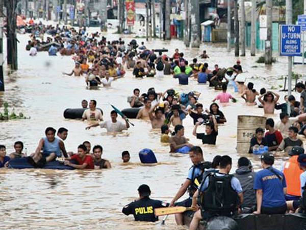 Flash Flooding in Marikina Philippines