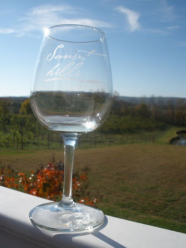 Glass and Vineyards