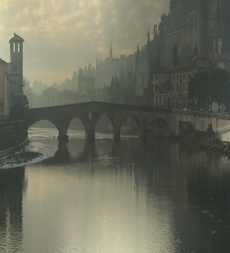 Foto de Verona como si fuera un cuadro