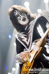 Kiss (DerekBrad) Tags: portrait music face rock concert october kiss tour center tommy lead 2009 guitarist thayer wachovia