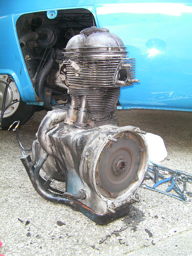 My Isetta Parts -Clutch&Engine- (November.1.2009)