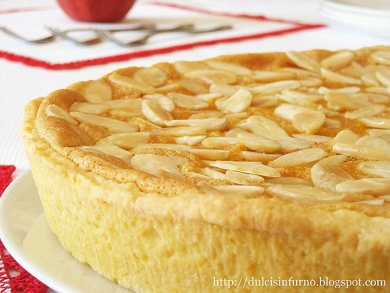Crostata di Mele e Mandorle-Apple and Almond Tart