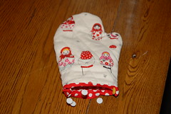 Child size oven mitt
