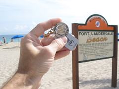 Travel bug at Ft Lauderdale beach Photo