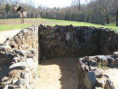 Foundation of an early home (Oldtown, North Carolina, United States) Photo