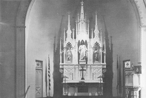 St John Church in Seward, Nebraska - Altar