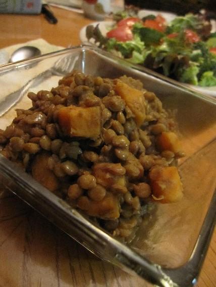 Close Lentils