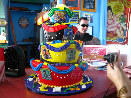 The Freak Bar at Coney Island USA: Cake by the Cake Boss. Photo via Bruce Handy/Pablo 57's flickr