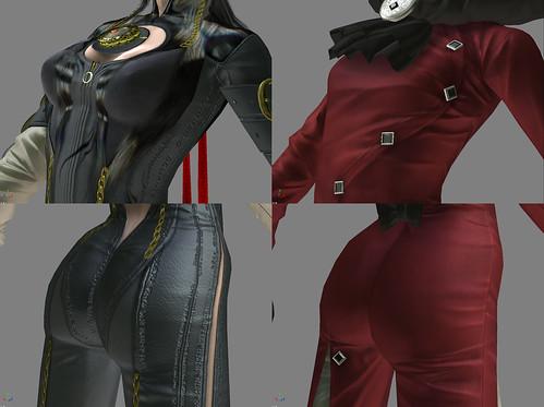 Comparativa en profundidad de los personajes de Bayonetta y Jeanne
