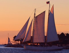 Sunset Sail (PelicanPete) Tags: sunset sailboat thanksgivingweekend keywestflorida sunsetcruise westernunion thefloridakeys