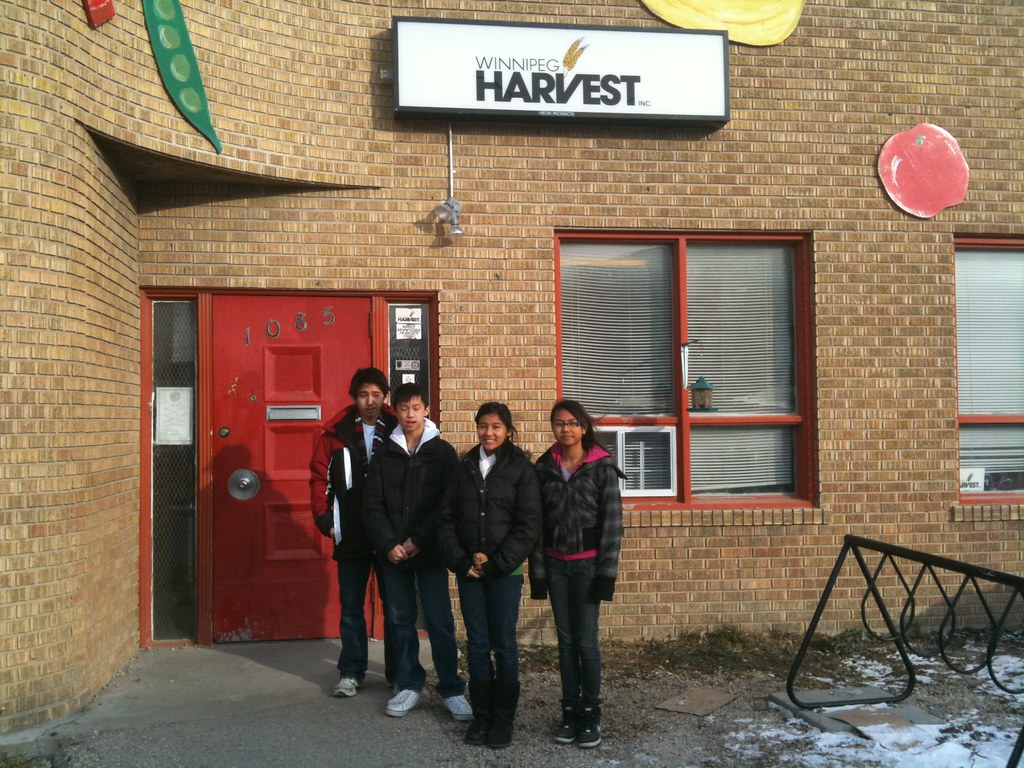 Winnipeg Harvest Food Bank Locations North Winnipeg