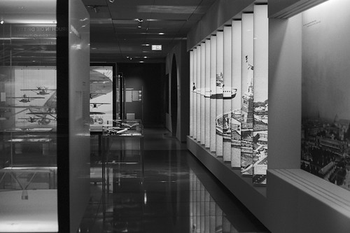 Ausstellungsraum im Dorniermuseum in Friedrichshafen