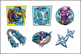 free Path of the Penguin slot game symbols