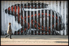 Roa - Rabbit Head on. (Romany WG) Tags: street urban house rabbit art animals graffiti hare outsider contemporary east shoreditch end cordy roa flickraward