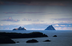 The Skellig Islands, Co Kerry, Ireland. (2c..) Tags: ireland sea sky film landscape star flickr location kerry best wars 2c 72dpipreview ©lowresolutionpreview