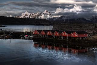 Svolvær / Lofoten (explored #151, 15.12.2009)