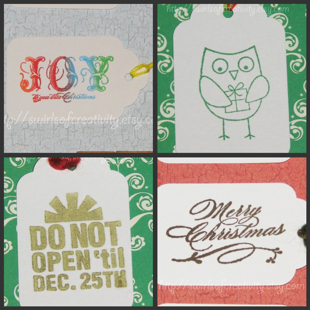 Water4Christmas Gift Tags