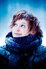 emma (Dennis*) Tags: wood winter snow girl bokeh emma