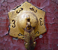 Forbidden City door detail