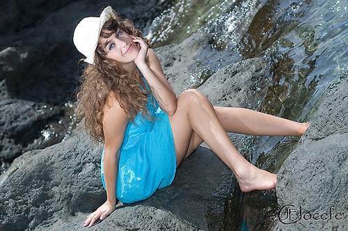 Marcia con sombrero