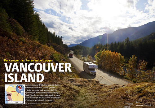 Vancouver Island for REIZEN Magazine, pages 1&2.