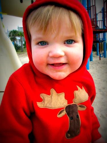 H on playground
