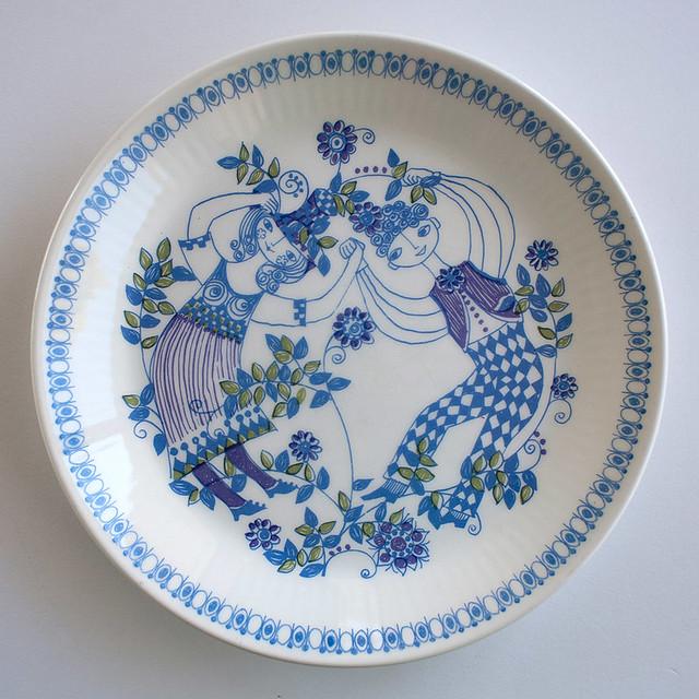 Lotte Salad/Entrée Plates