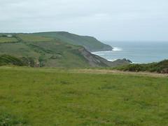 Cornish coastline looking west (MikeEye) Tags: charity bike emerson ride landsend cycle bikeride johnogroats cycleride lejog