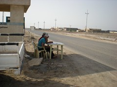 Traffic Survey at Fao Town, Iraq