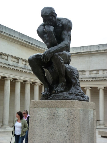 Rodin's Thinker at Legion of Honor
