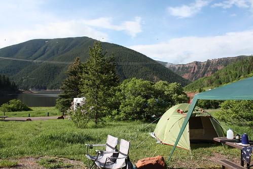 Gorgeous campsite