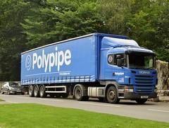 Photo of YN60 BHV - Scania R360 - Polypipe Ltd., Edlington, Doncaster, South Yorkshire.