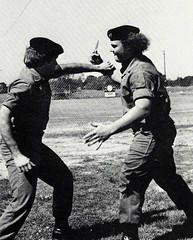 Hand-To-Hand Combat (~ Lone Wadi ~) Tags: selfdefense fighting handtohand combat candid outdoors retro 1970s