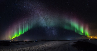 MilkyWay and Northern Lights