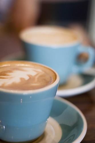 Lavender Latte @ Cafe Medina