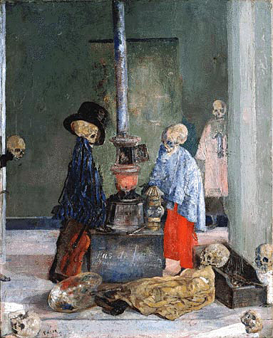 skeletons James Ensor