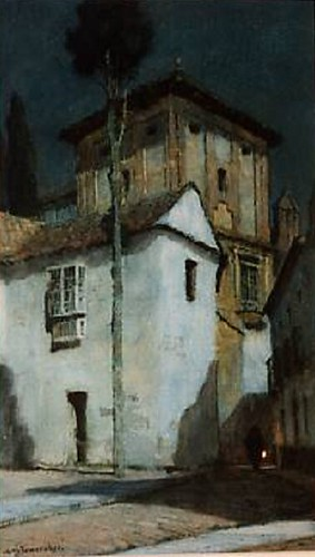 Albert Foweraker, Cordoba in moonlight.
