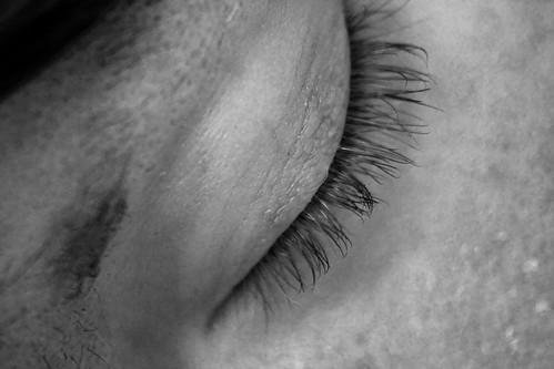 Fine Hairs Around Eyes (by Orin Zebest)