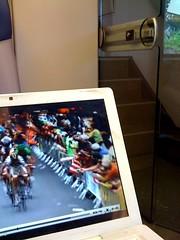 Tour dans le train