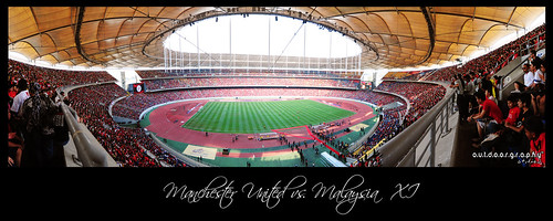 Panoramic View : Man. Utd vs. Malaysia XI (by Sir Mart Outdoorgraphy™)