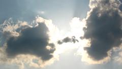 Cloudy Angel Wings (SnapShotStar) Tags: canonpowershot sunrisesunsetanythingsun nowthatssky thecloudappreciationsociety 10millionphotos