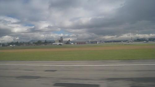 Landing in Bogota