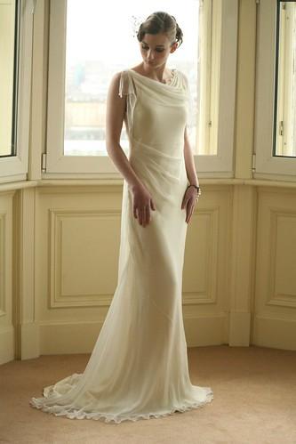 Interesting wedding dress