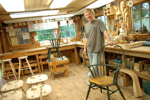 Windsor Chairmakers In Lincolnville Maine