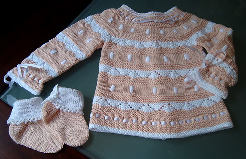 Llanas Stop Baby Sweater  Set