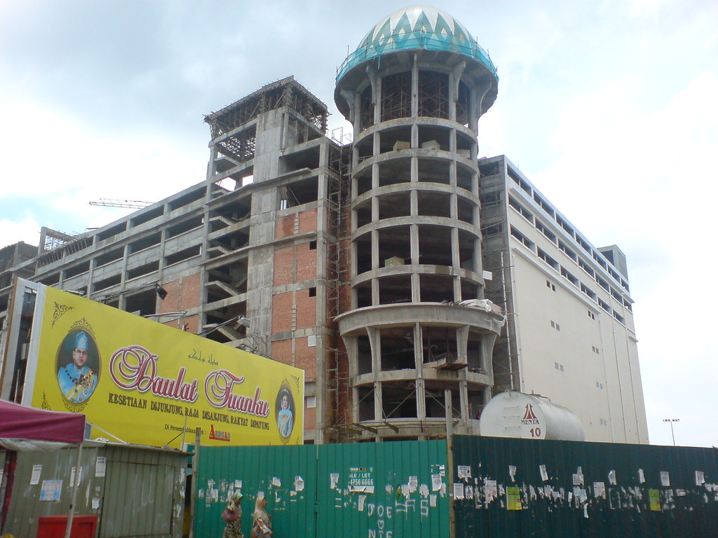 kota bharu trade centre under construction