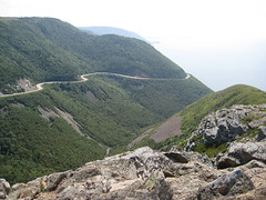 Cabot Trail from SkyLine Trail