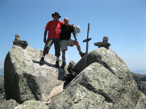 Sommet de la Punta d'Ovace (Bernard et Steff)