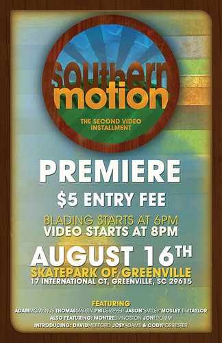 Southern Motion Premiere Poster