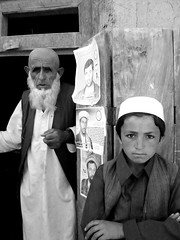 Elections in Afghanistan (Michal Przedlacki) Tags: old afghanistan mountains home work children war tajik care elections hazara
